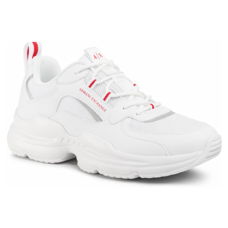 Sneakersy ARMANI EXCHANGE - XUX050 XV203 00152 Opt White