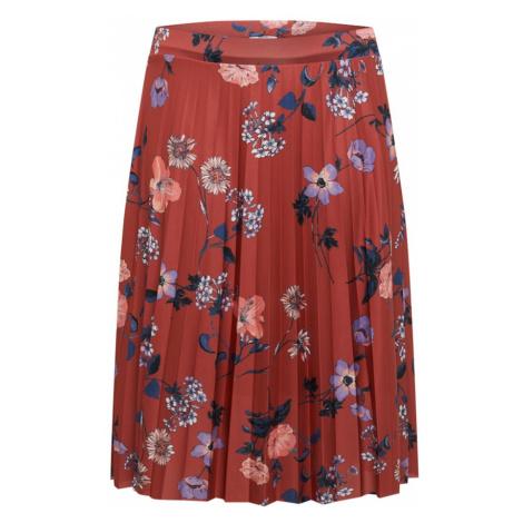 ABOUT YOU Curvy Spódnica 'Elis' mieszane kolory / rdzawobrązowy