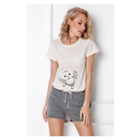 Damska piżama Owella krótka Aruelle