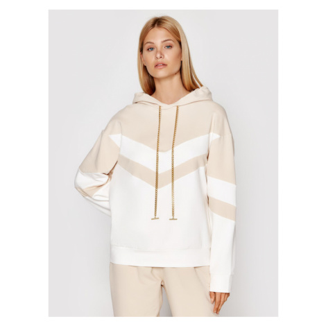 Imperial Bluza FB84BCR Beżowy Regular Fit