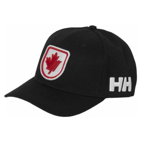 Helly Hansen BRAND CAP czarny UNI - Czapka z daszkiem