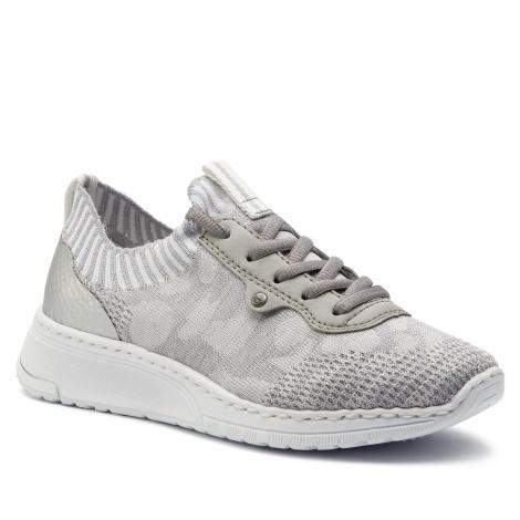 Sneakersy RIEKER - N5059-42 Grau