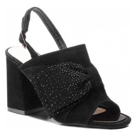 Sandały ALMA EN PENA - V18279 Suede Black