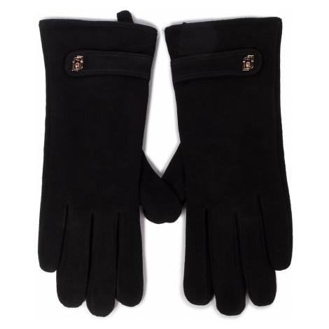 Rękawiczki Damskie LIU JO - Guanto In Suede Con 369096 P0021 Nero 22222