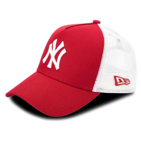 Czapka z daszkiem NEW ERA - Clean Trucker 2 Ney 11588488 Biały Czerwony