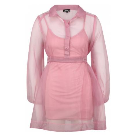 Missguided (Petite) Sukienka koszulowa różowy