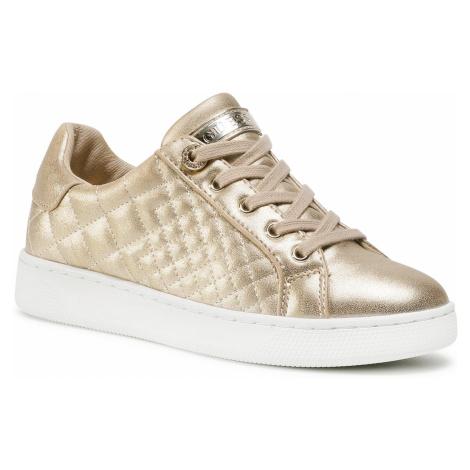 Sneakersy GUESS - Race FL7REE LEL12 GOLD
