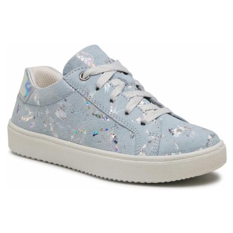Sneakersy SUPERFIT - 1-009488-8400 S Hellblau/Silber