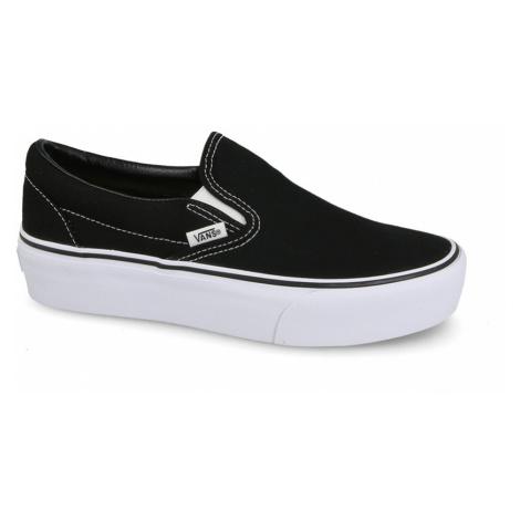 Buty damskie sneakersy Vans UA Classic Slip-On V18EBLK