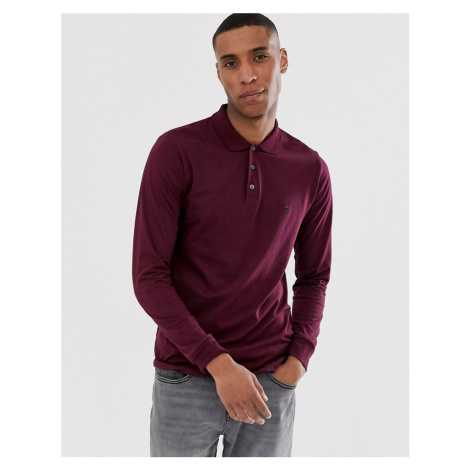 French Connection long sleeve jersey polo