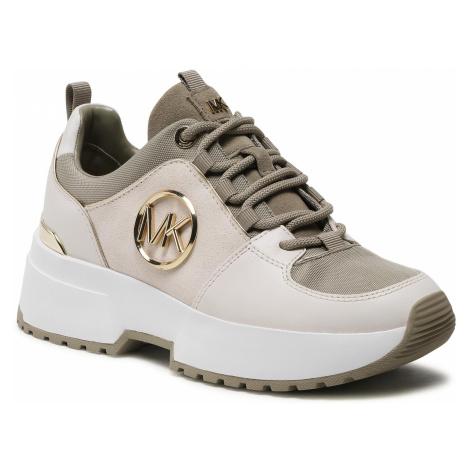 Sneakersy MICHAEL MICHAEL KORS - Cosmo Trainer 43F9CSFS2S Cream