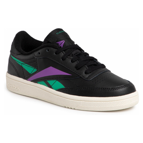 Buty Reebok - Club C 85 DV7251 Black/Emeral/Grapun