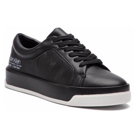 Sneakersy CALVIN KLEIN - Fatima E8873 Black/White