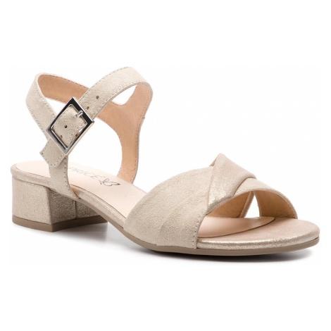 Sandały CAPRICE - 9-28203-22 Cream Comb 155