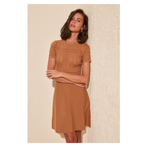 Women's dress Trendyol Woven detailed