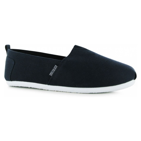 SoulCal Long Beach Childs Canvas Slip Ons Soulcal & Co