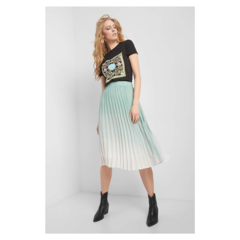 Spódnica plisowana ombre Orsay