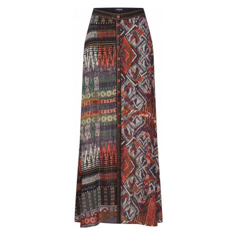 Desigual Spódnica 'FAL_EGINA' mieszane kolory / czerwony