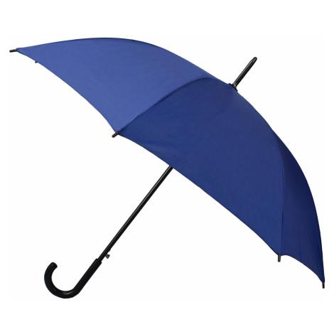 Semiline Unisex's Long Auto Open Umbrella 2508-1 Granatowy