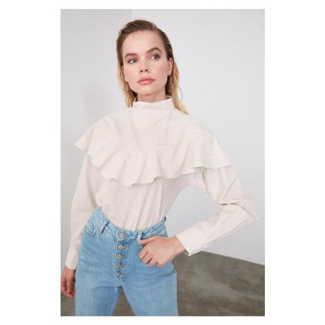 Trendyol Ruffle Szczegółowa bluzka