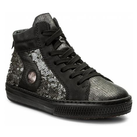Sneakersy RIEKER - L5948-45 Grey Combination
