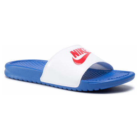 Klapki NIKE - Benassi Jdi 343880 410 Game Royal/University Red