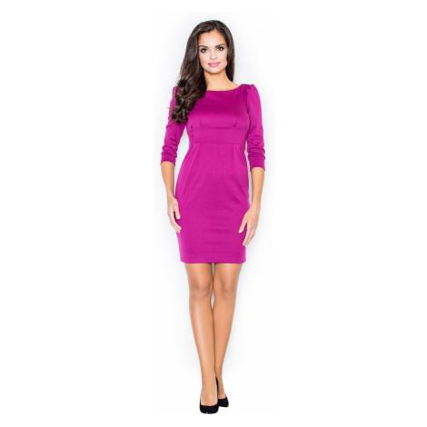 Figl Woman's Dress M082 Fuchsia