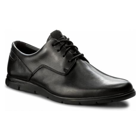 Półbuty CLARKS - Vennor Walk 261317487 Black Leather