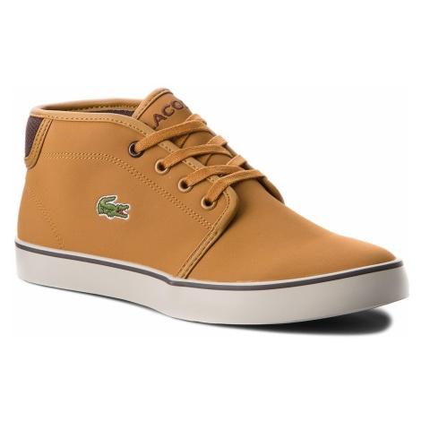 Sneakersy LACOSTE - Ampthill 318 1 Caj 7-36CAJ0001434 Dk Tan/Dk Brw