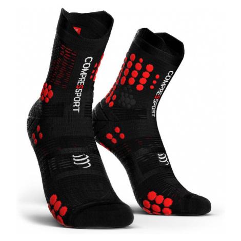 Skarpety Compressport Pro Racing Socks V3 Trail Czerwono-Czarne
