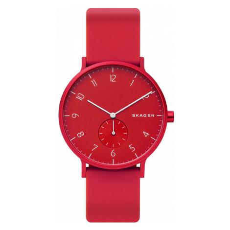 Zegarek SKAGEN - Aaren Kulor SKW6512 Red/Red