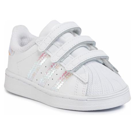 Buty adidas - Superstar Cf I FV3657 Ftwwht/Ftwwht/Ftwwht