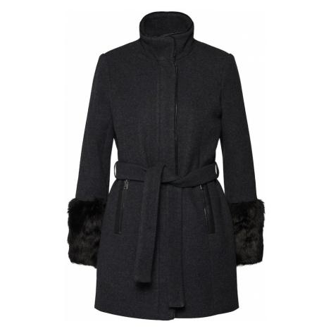 VERO MODA Płaszcz zimowy ciemnoszary