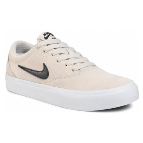NIKE Buty Sb Charge Suede CT3463 100 Beżowy