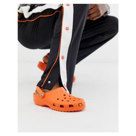 Crocs classic shoes in orange