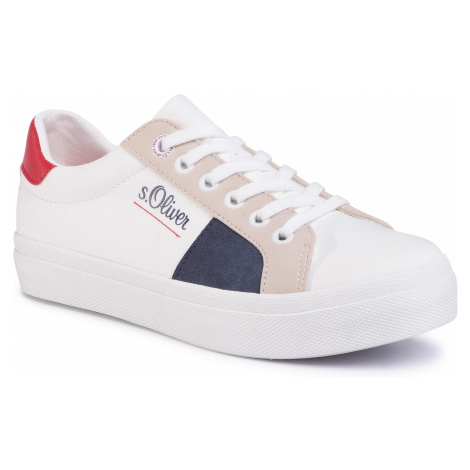 Sneakersy S.OLIVER - 5-23621-24 White Comb. 110