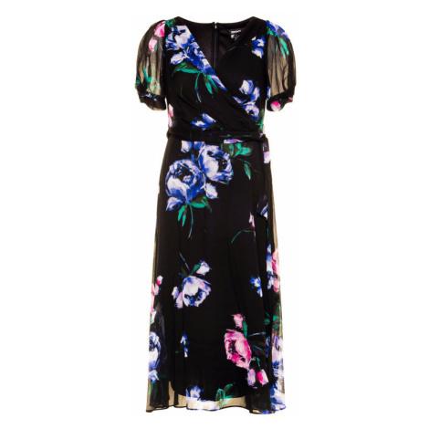 DKNY Sukienka koktajlowa DD0AY22A Czarny Regular Fit