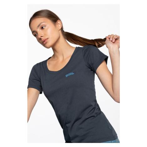 Koszulka Fjallraven Fjällräven Logo T-Shirt W 509 Navy
