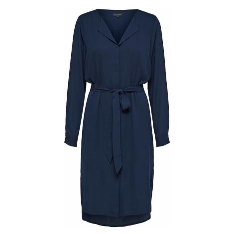 SELECTED FEMME Sukienka niebieska noc