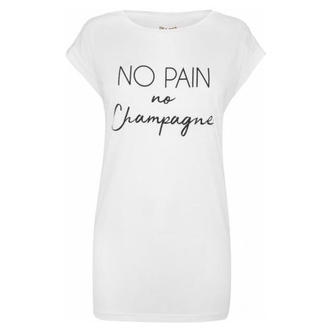 USA Pro No Pain Slogan T Shirt Ladies