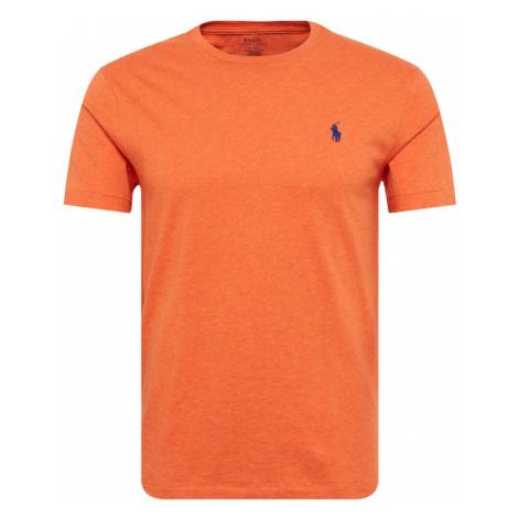 POLO RALPH LAUREN Koszulka 'SSCNCMSLM2' pomarańczowy