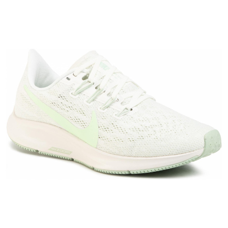 Buty NIKE - Air Zoom Pegasus 36 AQ2210 101 Summit White/Vapor Green