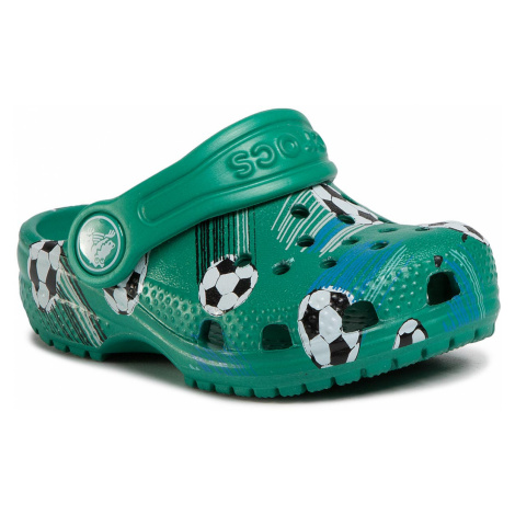 Klapki CROCS - Classic Sport Ball Clog Ps 206417 Deep Green