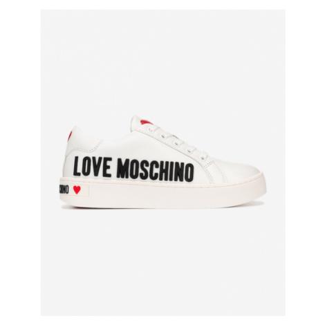 Love Moschino Tenisówki Biały