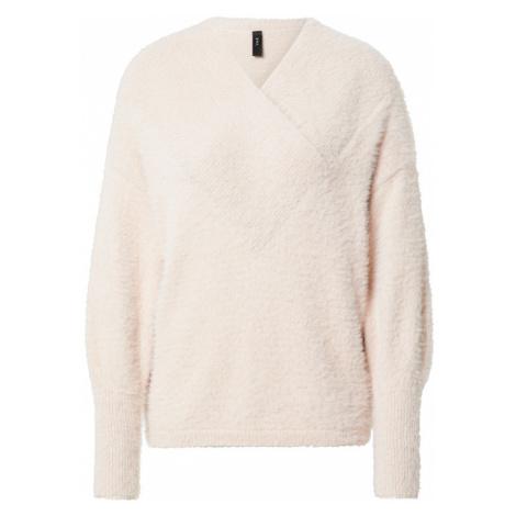 Y.A.S Sweter 'Fleura' różowy pudrowy