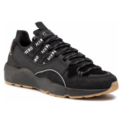 Sneakersy ICEBERG - MIU1365A Winter Black
