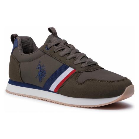 Sneakersy U.S. POLO ASSN. - Nobi1 Club NOBIL4243S0/YH1 Milg