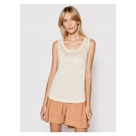 Marc O'Polo Top 104 2056 50079 Beżowy Regular Fit