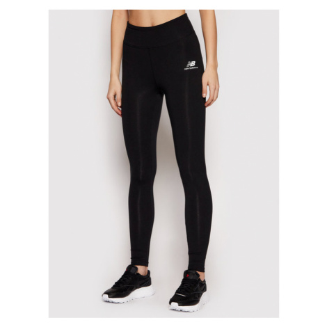 New Balance Legginsy Tighty Athletics Core NBWP01519BK Czarny Fitted Fit