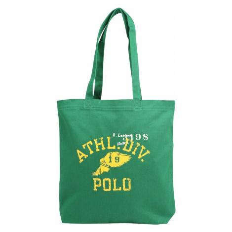 POLO RALPH LAUREN Kupujący 'COTTON TWILL-YALE' żółty / zielony